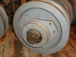 Крановое колесо для башенного крана
