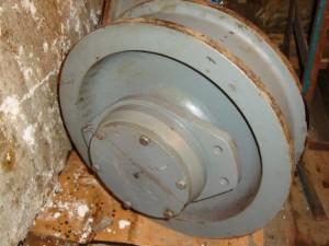 Крановое колесо на КБ-405