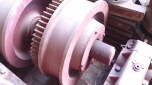 Крановое колесо К2Р 500х100