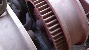 Крановое колесо К2Р 500х100 на ККС-10