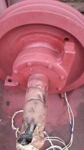 Крановое колесо К2Р 710х100