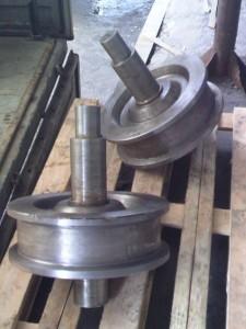 Крановое колесо 320х80
