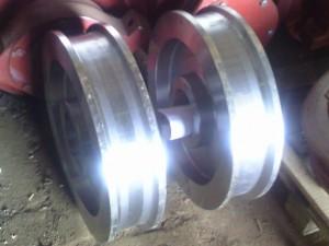 Крановые колеса К2Р 500х100