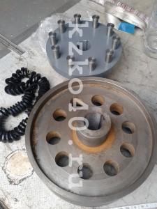 муфта МУВП с тормозным шкивом 400