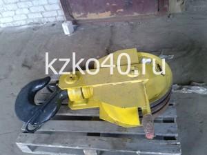 Крюковая подвеска ПК-10,0-17А-3-500-16,5 изготовленная по ОСТ 24.19.105-82