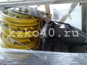 Крюковая подвеска ПК-20-19А-4-400-16,5 изготовленная по ОСТ 24.19.105-82