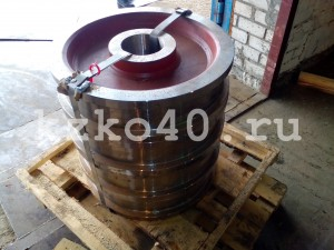 Крановое колесо К2Р 630х110 сталь 65г