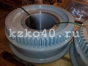 Зубчатый венец m-8, z-62 и крановое колесо К2Р 500х100 для ККС10
