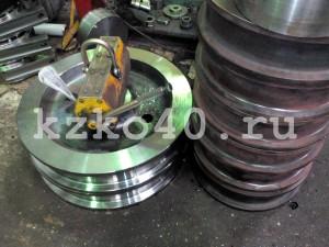 Крановое колесо К2Р 700-100