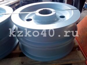 Крановое колесо К2Р 500-100 для мостового  крана 10 тн.