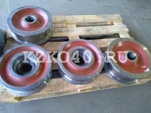 Колесо К2Р 320х96 и колесо крановое К2Р 300х86