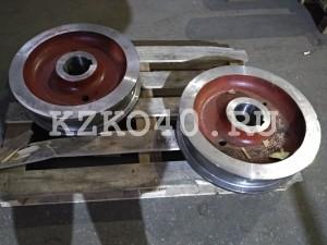 Крановое колесо к2р 500х100 для мостового крана