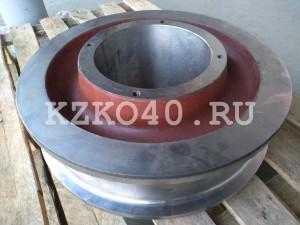 крановое колесо к2р 500-100