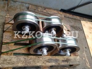 Крановое колесо к2р 400-100